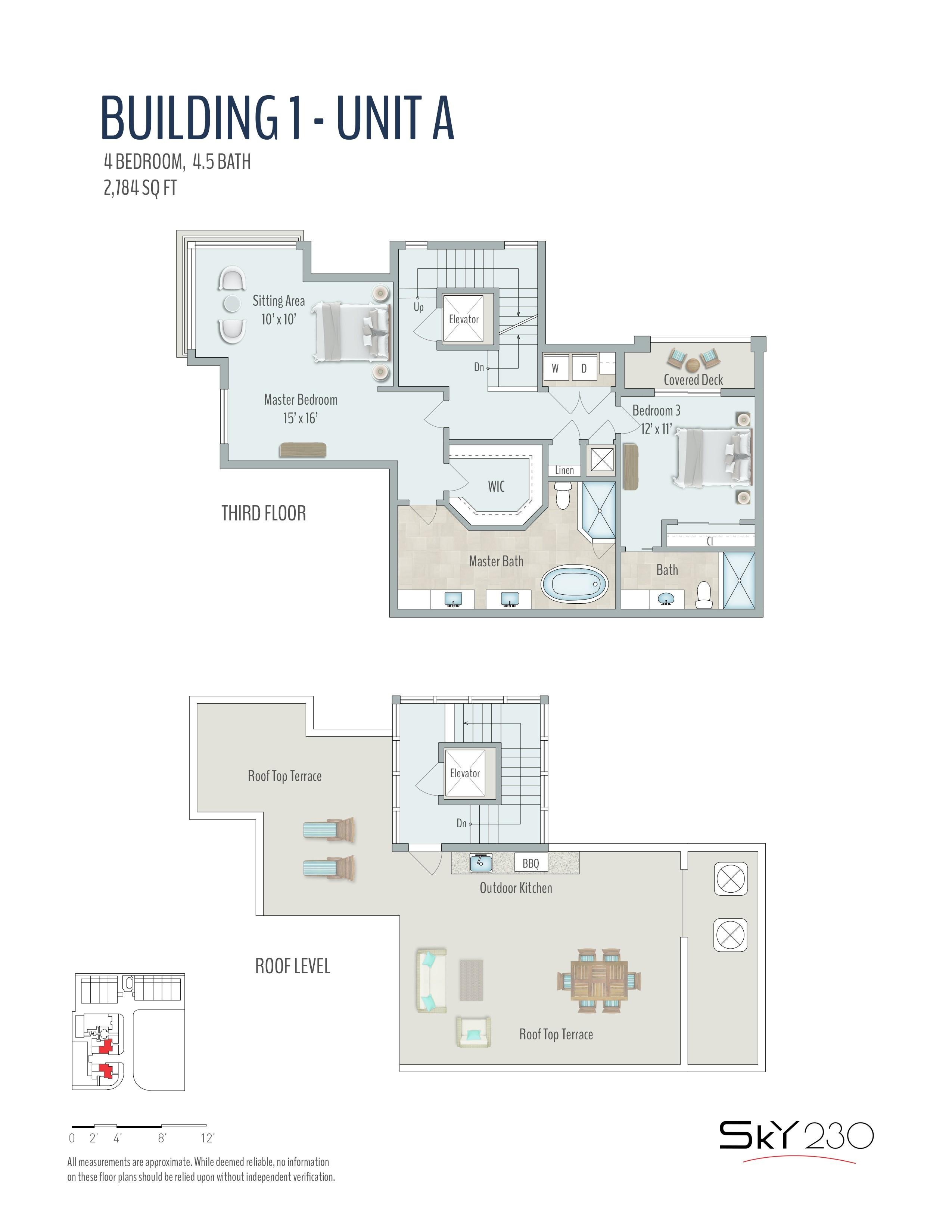 Sky230 Part No 250 15 255 8 260 4 261 5 Model A 34 Floors